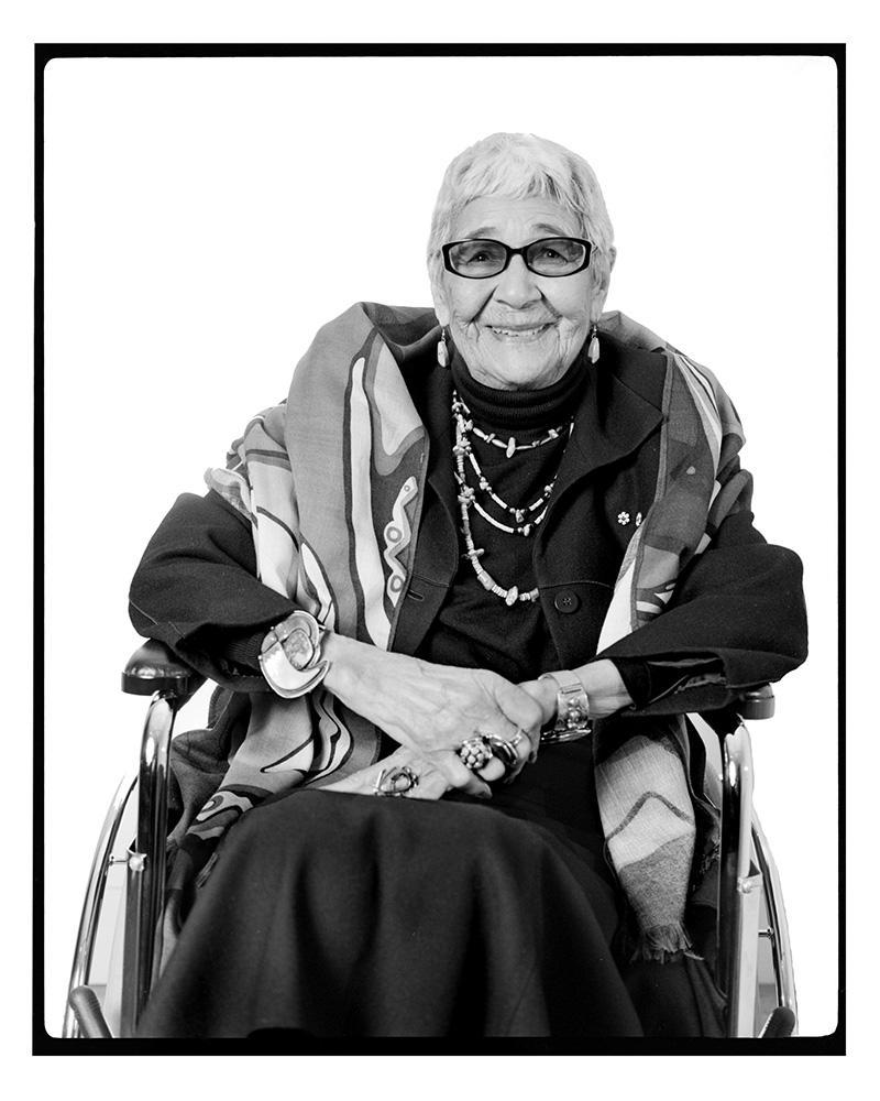 DAPHNE ODJIG (Ottawa, Ontario, Canada, 2009)