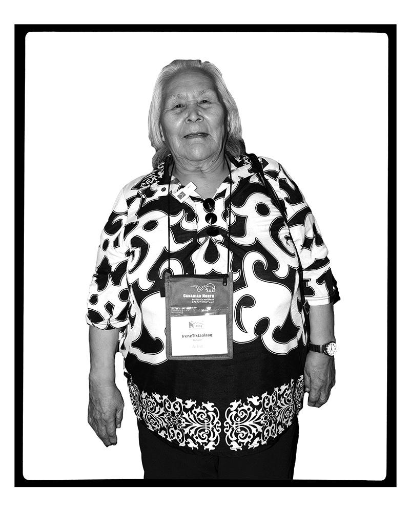 IRENE TIKTAALAAQ (Ottawa, Ontario, Canada, 2014)