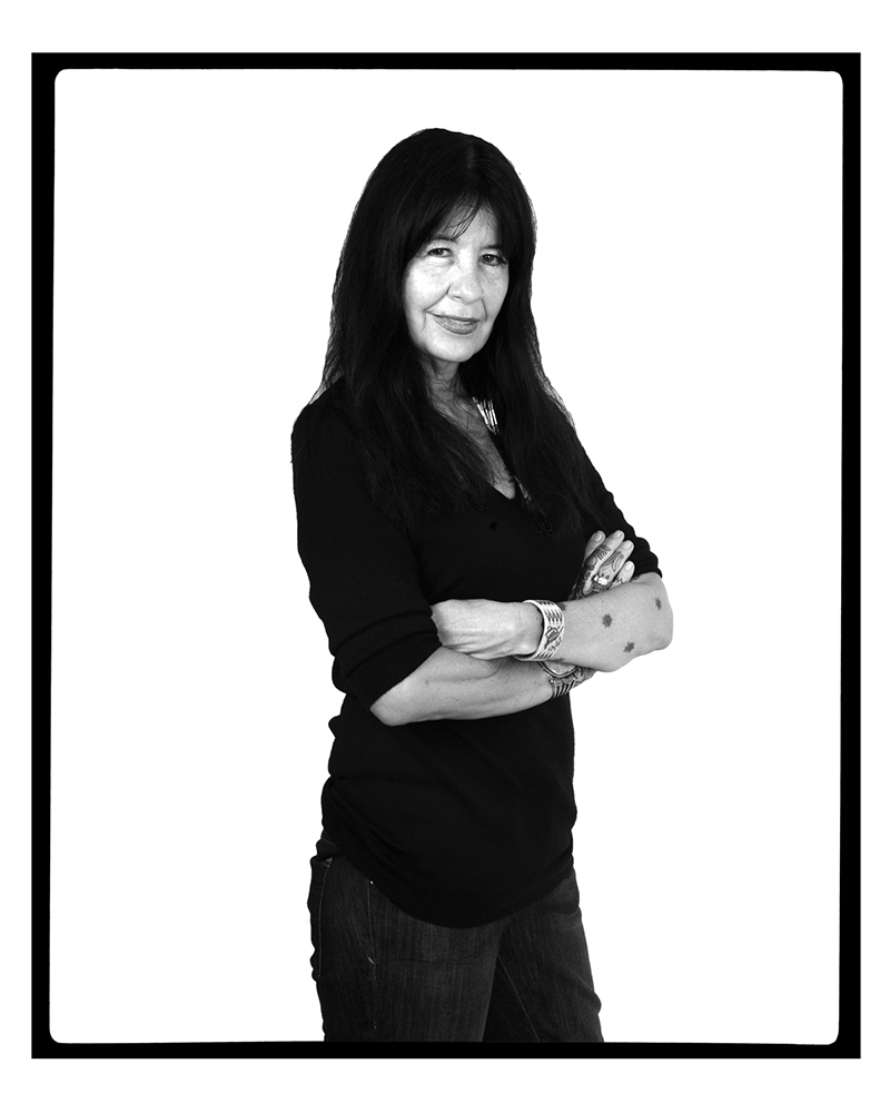 JOY HARJO (Santa Fe, New Mexico, USA, 2012)