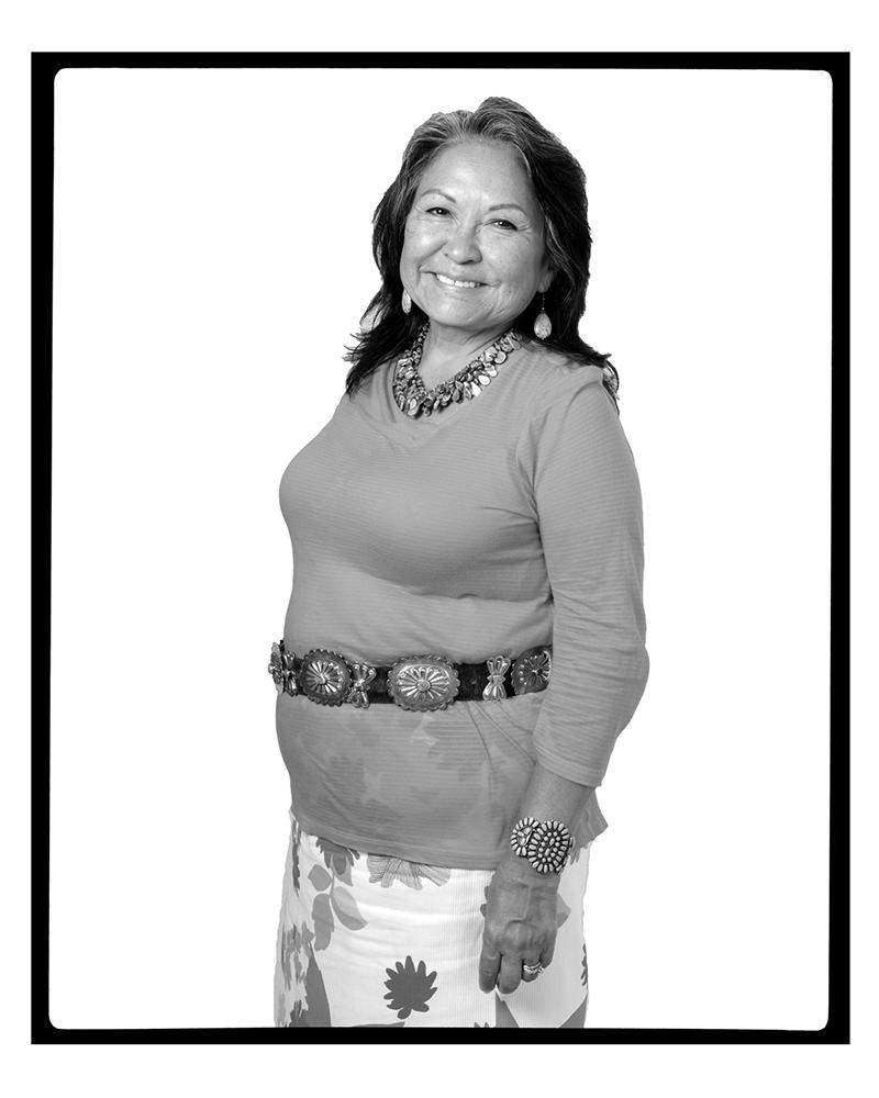 LUCY TAPAHONSO (Santa Fe, New Mexico, USA, 2012)