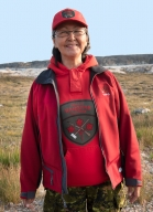 Operation NANOOK 2017: Ranger Nellie Scharer (Rankin Inlet) 1st Canadian Ranger Patrol Group, Rankin Inlet, Nunavut