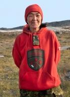 Operation NANOOK 2017: Ranger Sheila Kadjuk (Chesterfield Inlet) 1st Canadian Ranger Patrol Group, Rankin Inlet, Nunavut