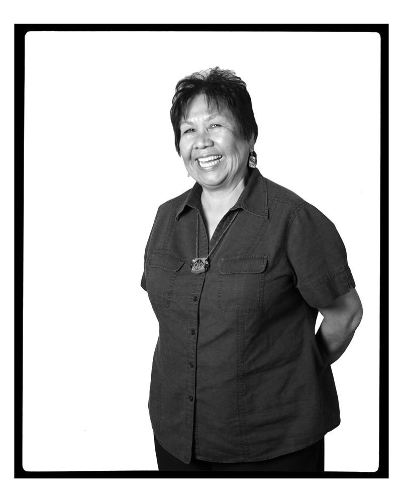 LINDA LOMAHAFTEWA, Santa Fe, New Mexico, 2012