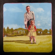 """Me and Dad (24"""" x 24"""")"""