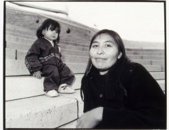 Dorothy Chocolate and Daughter Erin in Ottawa (September 26, 1992)