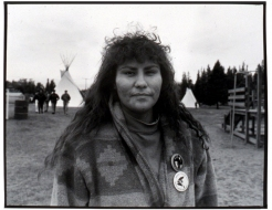 Joslyn Wuttnee in Prince Albert (September 6, 1992)
