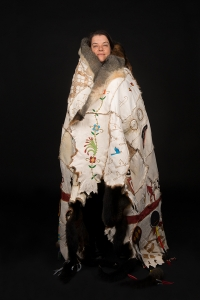 portrait_possum-cloak_kerri-clarke_by-rosalie-favell