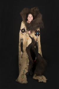 portrait_buffalo-robe_meryl-mcmaster_by-rosalie-favell
